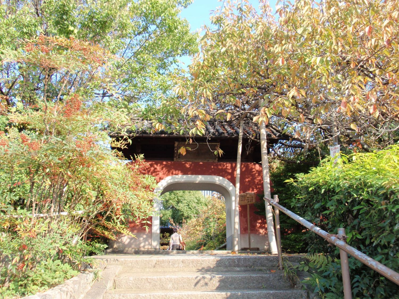 石峰寺・赤門