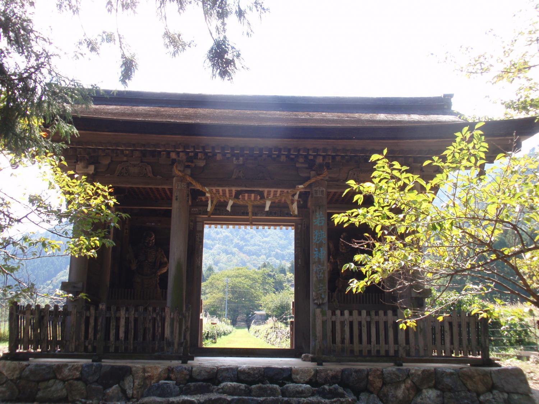 若狭神宮寺・北門