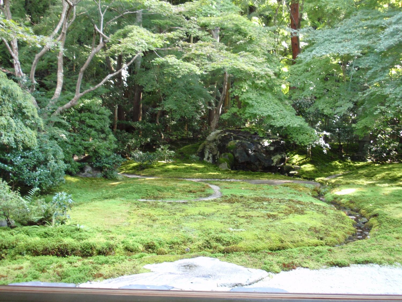 瑠璃光院・山露路の庭