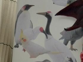 子ペンギンと子ヅルも季節