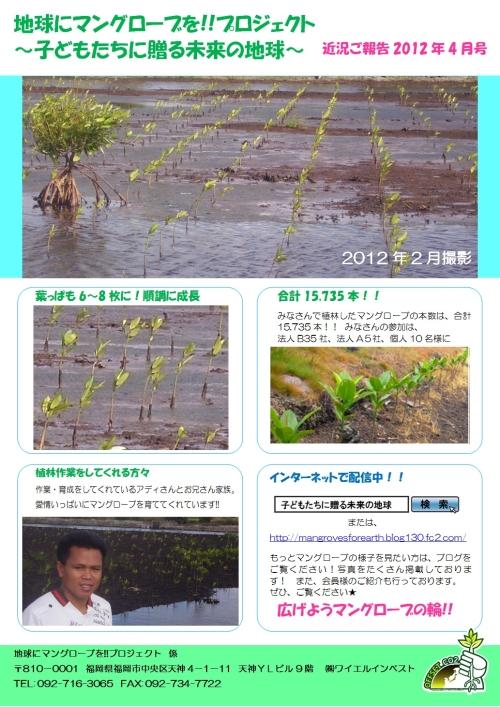 ご報告 2012年4月(小)