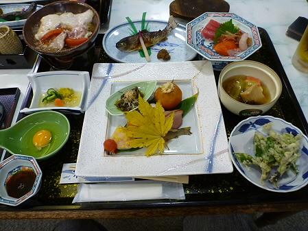 松川荘 料理01(2011.10.14)