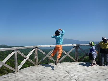 八幡平山頂へ行ってみた01(2012.6.26)ジャンプ!