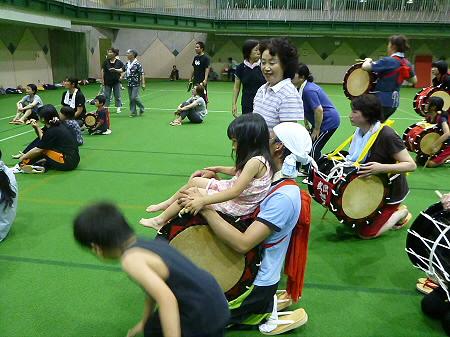 さくらさんさの練習13(2012.7.25)
