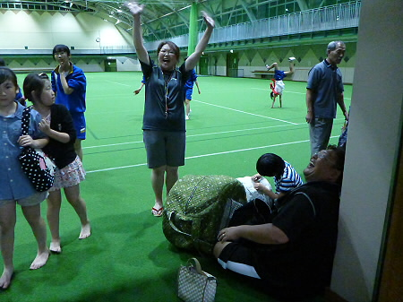 さくらさんさの練習16(2012.7.25)