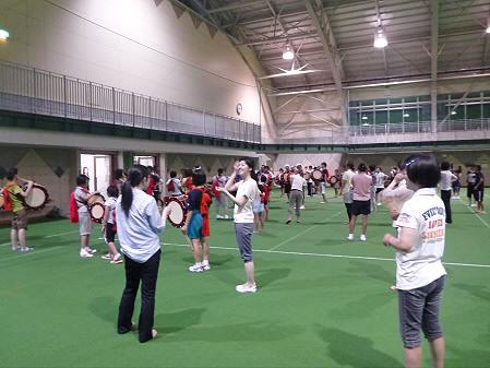 さくらさんさ練習14(2012.7.27)