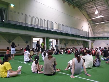 さくらさんさ練習15(2012.7.27)