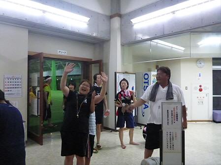 さくらさんさ練習18(2012.7.27)