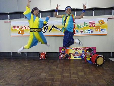 さんさパレード01(2012.8.3)ジャンプ!