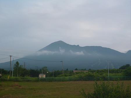 夕焼けの岩手山01(2012.8.4)