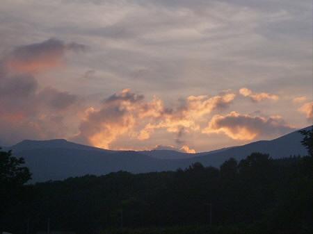 夕焼けの岩手山03(2012.8.4)