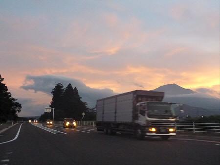 夕焼けの岩手山06(2012.8.4)