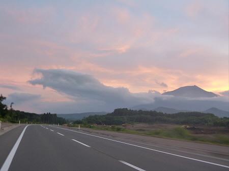 夕焼けの岩手山07(2012.8.4)