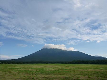 上坊牧野の虹と夕焼け06(2012.8.10)