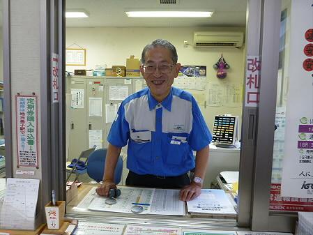 巣子駅山口さん(2012.8.11)