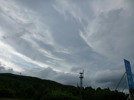 銀色の空と大更駅03(2012.8.13)