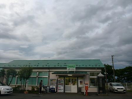 銀色の空と大更駅05(2012.8.13)