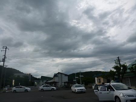銀色の空と大更駅06(2012.8.13)