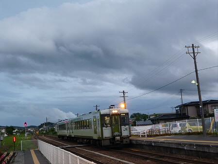 銀色の空と大更駅10(2012.8.13)