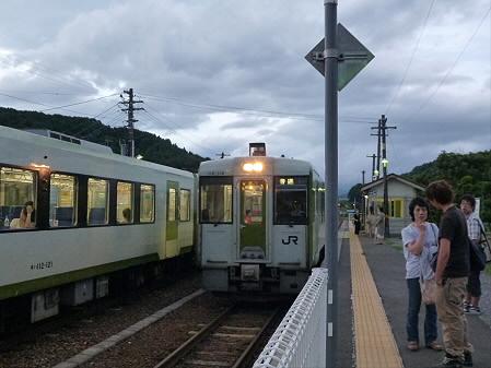 銀色の空と大更駅11(2012.8.13)