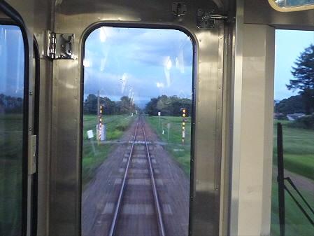 銀色の空と大更駅12(2012.8.13)