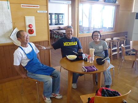 オオモリさんご夫婦03(2012.8.18)来訪者