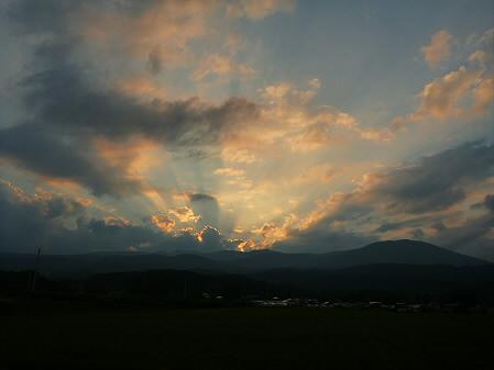 キレイな夕方の雲たち05(2012.8.21)
