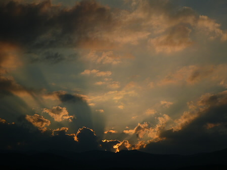 キレイな夕方の雲たち06(2012.8.21)