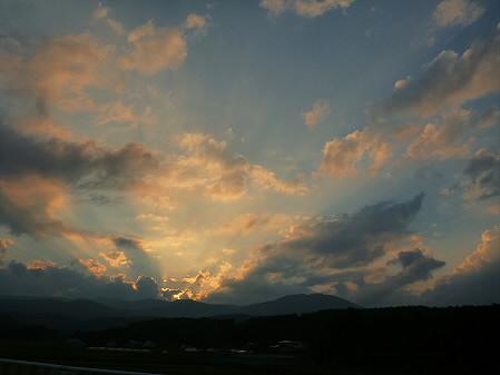 キレイな夕方の雲たち07(2012.8.21)