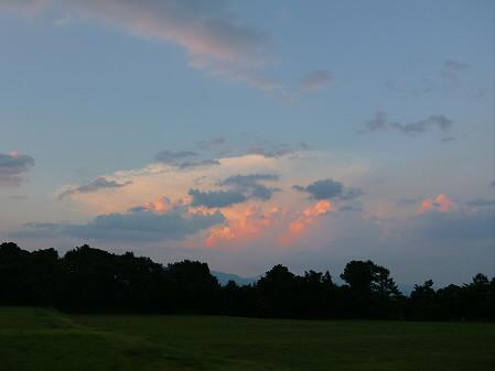 キレイな夕方の雲たち03(2012.8.22)