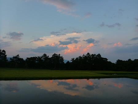 キレイな夕方の雲たち04(2012.8.22)