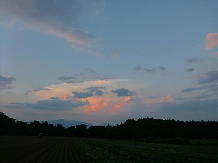 キレイな夕方の雲たち05(2012.8.22)