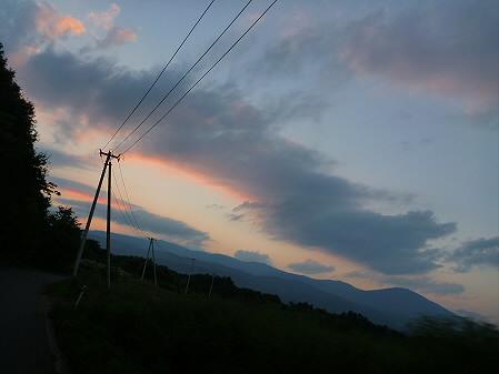 キレイな夕方の雲たち06(2012.8.22)