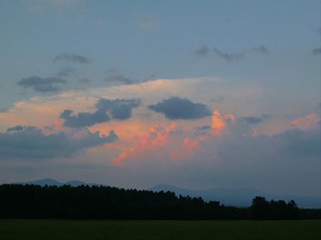 キレイな夕方の雲たち07(2012.8.22)