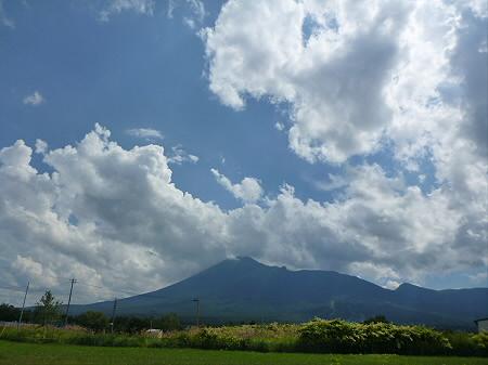 積乱雲がすごかった日の風景01(2012.8.23)