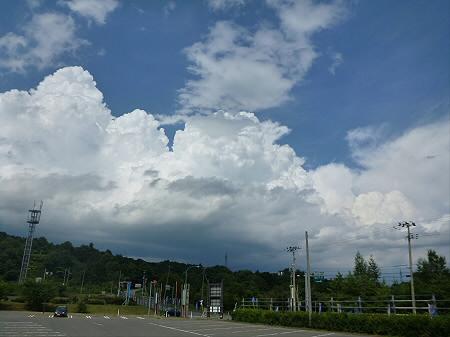積乱雲がすごかった日の風景02(2012.8.23)