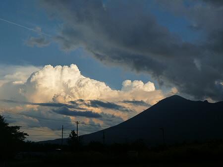 積乱雲がすごかった日の風景04(2012.8.23)