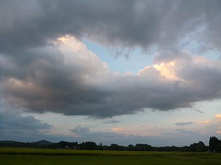 積乱雲がすごかった日の風景12(2012.8.23)