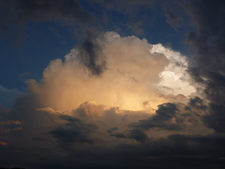 積乱雲がすごかった日の風景14(2012.8.23)