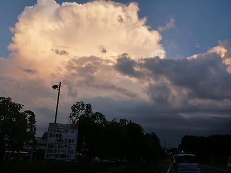 積乱雲がすごかった日の風景16(2012.8.23)