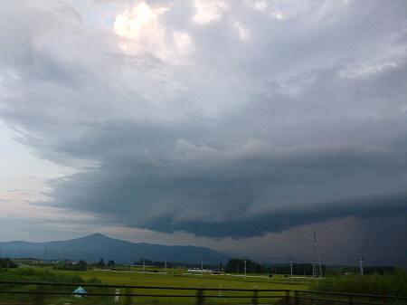 積乱雲がすごかった日の風景18(2012.8.23)