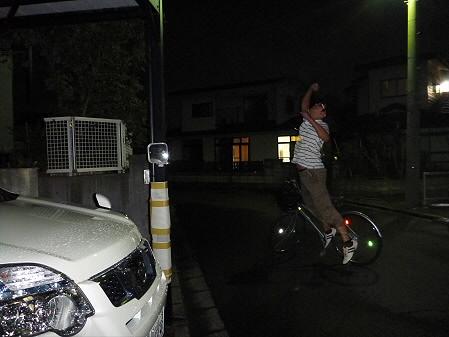 車が運転できるようになったこと04(2012.8.24)ジャンプ!