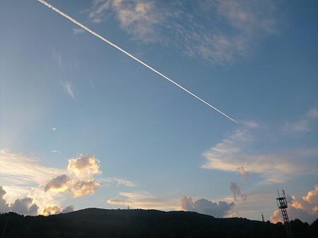 きれいな夕焼け02(2012.8.26)