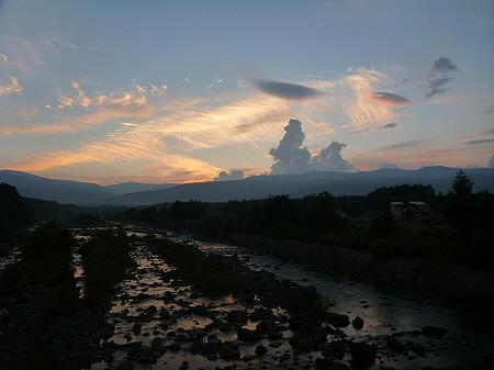 きれいな夕焼け04(2012.8.26)