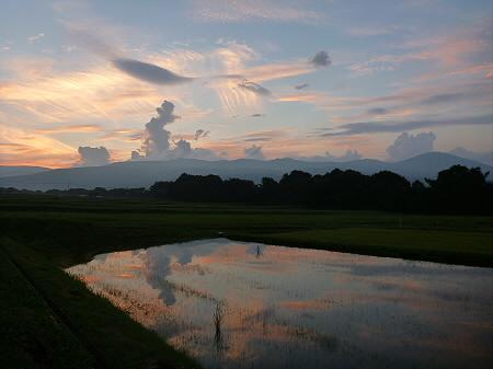 きれいな夕焼け07(2012.8.26)