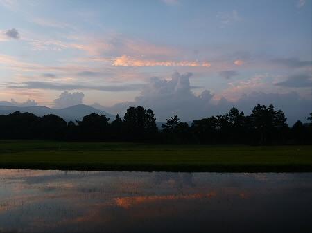 きれいな夕焼け08(2012.8.26)