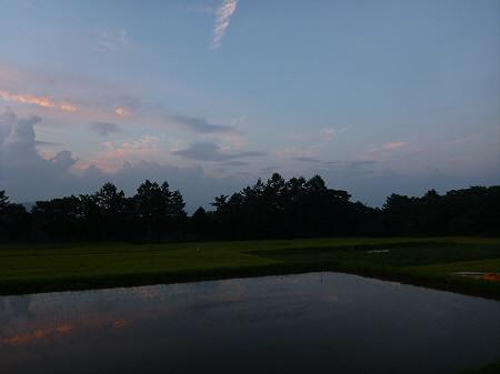 きれいな夕焼け09(2012.8.26)