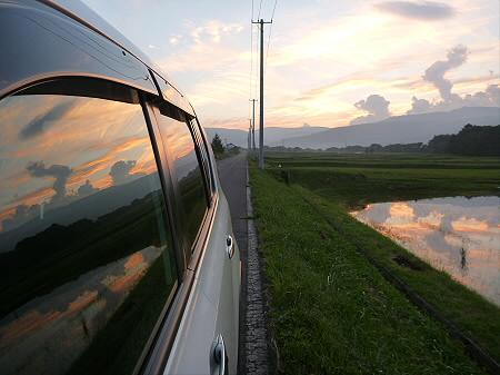 きれいな夕焼け11(2012.8.26)
