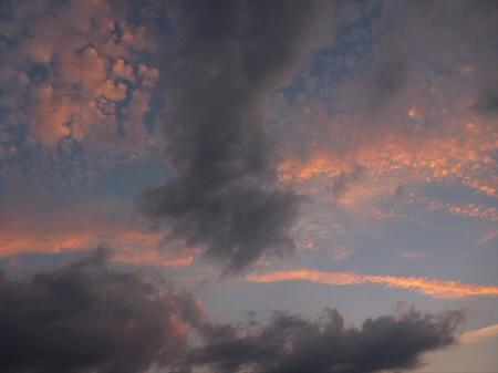 きれいな夕焼け02(2012.8.27)
