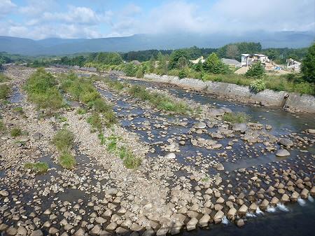 刈屋橋からの松川01(2012.9.7)